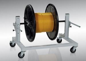 derouleur touret cable enrouleur lovage trancanage presse sertissage outil degainage Vario Technologies